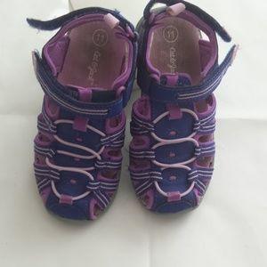Cat & Jack Purple Water Sandals Girls